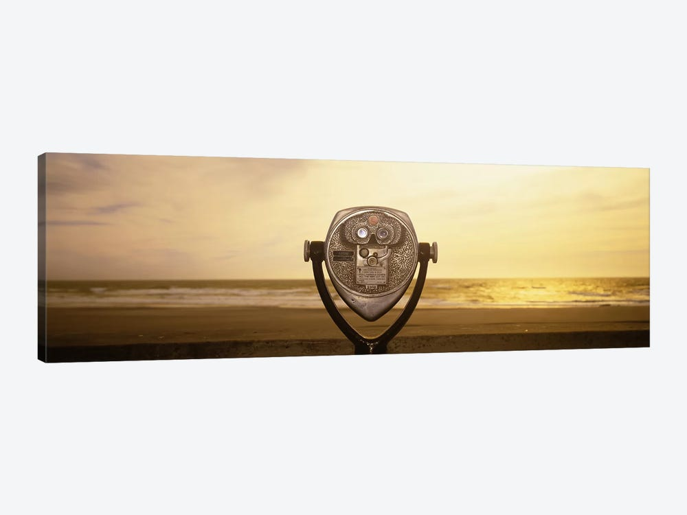 Mechanical Viewer, Pacific Ocean, California, USA by Panoramic Images 1-piece Art Print