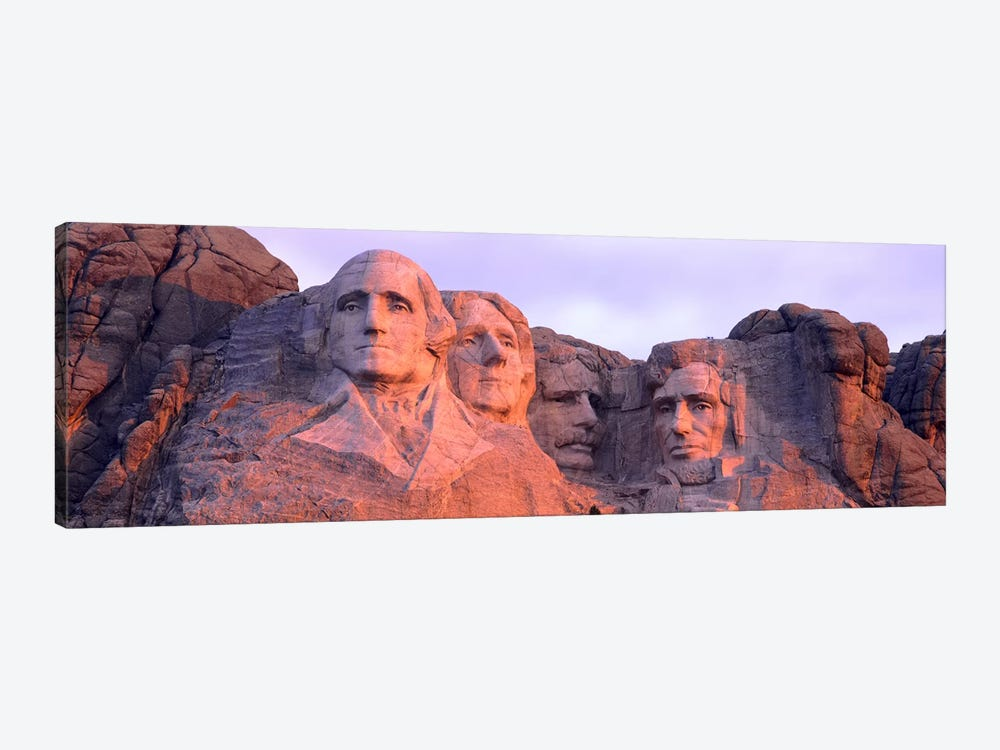 Mount Rushmore National Memorial I, Pennington County, South Dakota, USA by Panoramic Images 1-piece Canvas Wall Art