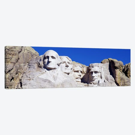 Mount Rushmore National Memorial, Pennington County, South Dakota, USA Canvas Print #PIM3122} by Panoramic Images Canvas Art Print