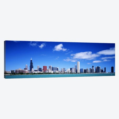 Skyline, Chicago, Illinois, USA Canvas Print #PIM3123} by Panoramic Images Canvas Print