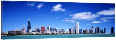 Skyline, Chicago, Illinois, USA Canvas Art Print