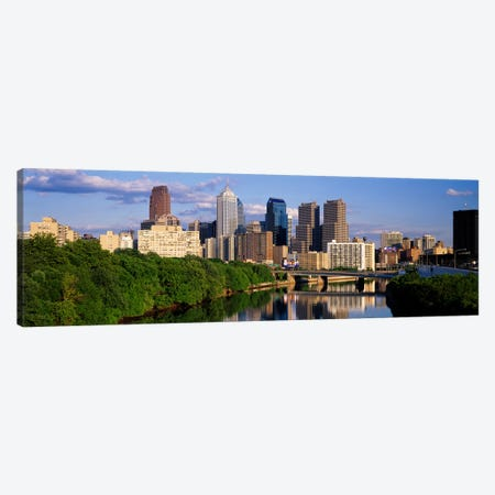 Philadelphia PA Canvas Print #PIM3125} by Panoramic Images Canvas Artwork