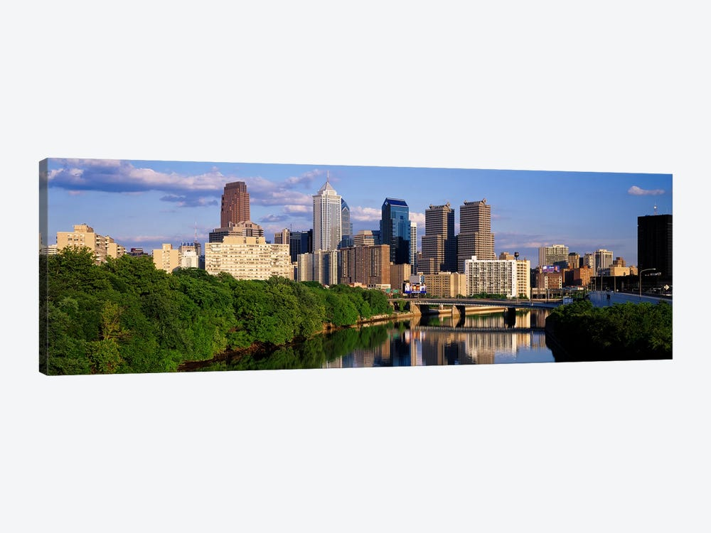 Philadelphia PA by Panoramic Images 1-piece Canvas Wall Art