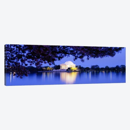 Jefferson MemorialWashington DC, District of Columbia, USA Canvas Print #PIM3129} by Panoramic Images Art Print