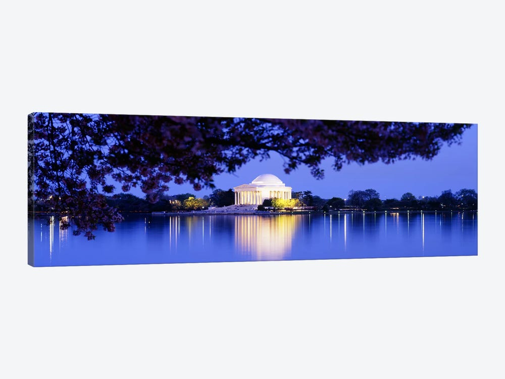 Jefferson MemorialWashington DC, District of Columbia, USA by Panoramic Images 1-piece Canvas Wall Art