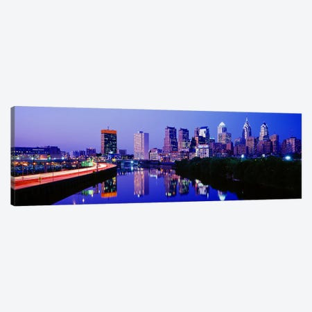 Philadelphia, Pennsylvania, USA Canvas Print #PIM3131} by Panoramic Images Canvas Wall Art