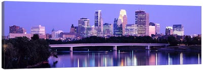 Minneapolis MN Canvas Art Print
