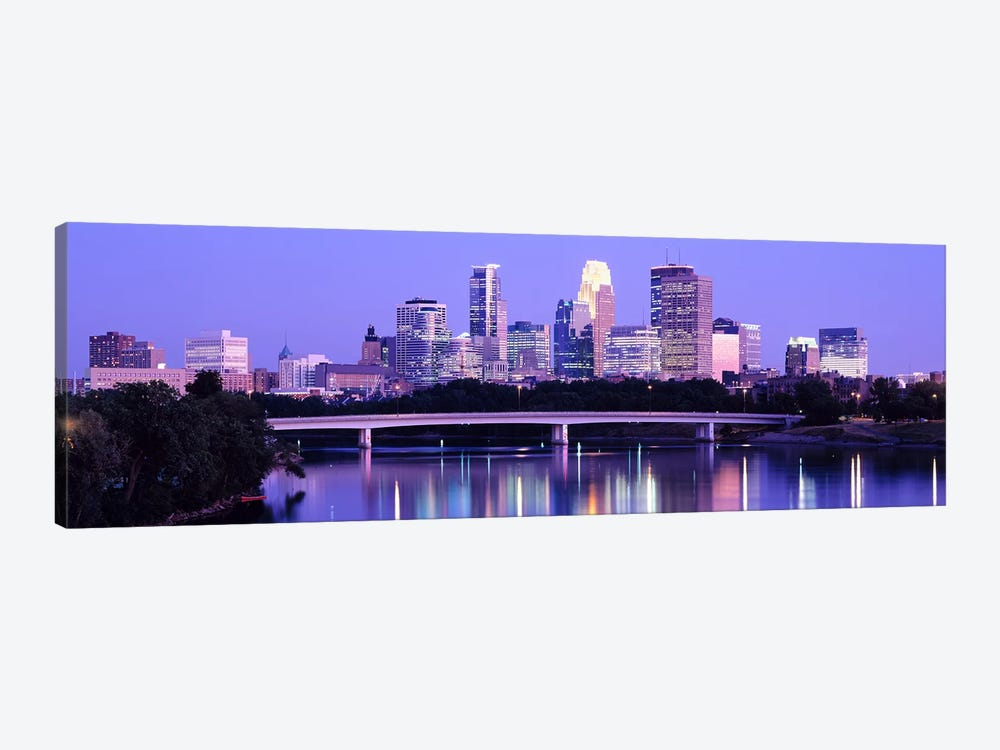Minneapolis MN by Panoramic Images 1-piece Canvas Wall Art