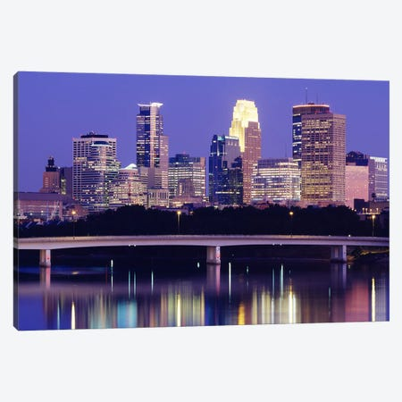Minneapolis MN #2 Canvas Print #PIM3133} by Panoramic Images Canvas Art