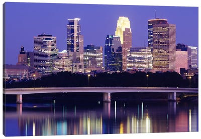 Minneapolis MN #2 Canvas Print #PIM3133
