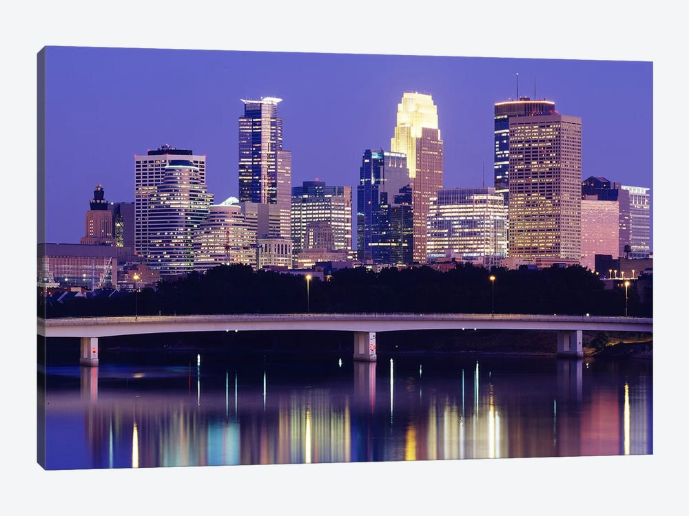 Minneapolis MN #2 by Panoramic Images 1-piece Art Print