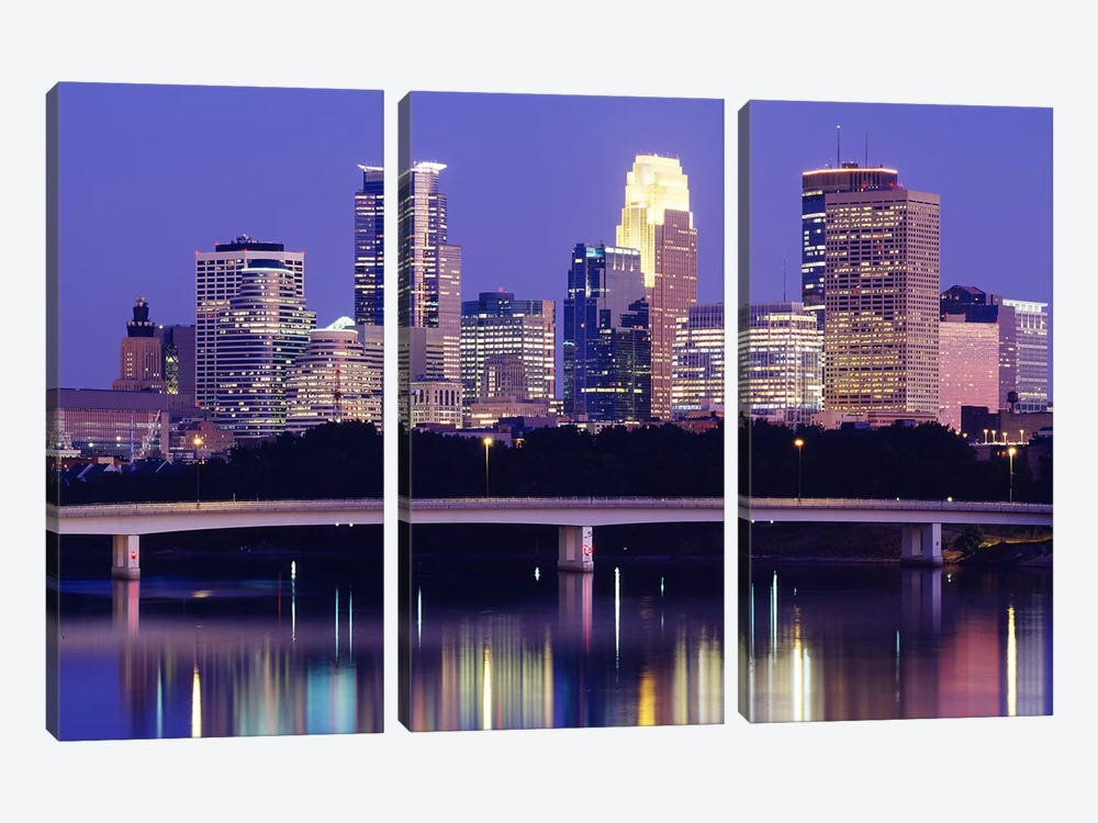 Minneapolis MN #2 by Panoramic Images 3-piece Canvas Art Print