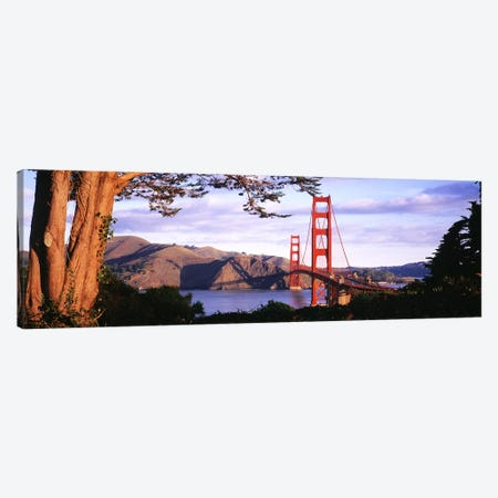 Golden Gate Bridge, San Francisco, California, USA #2 Canvas Print #PIM3135} by Panoramic Images Art Print