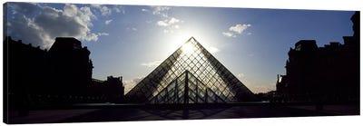 Louvre Paris France Canvas Print #PIM3138