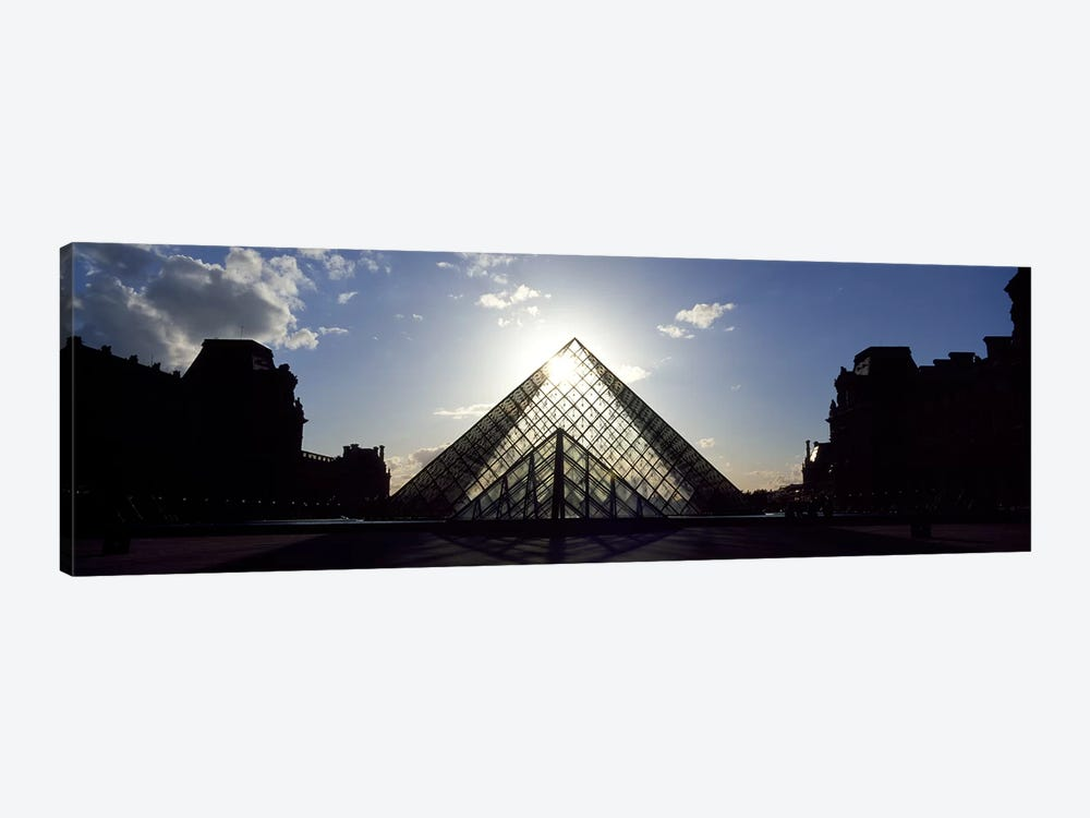 Louvre Paris France by Panoramic Images 1-piece Canvas Wall Art