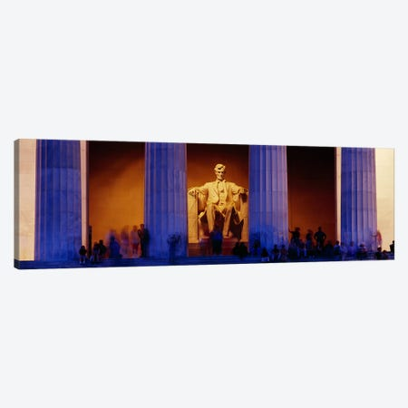 Lincoln Memorial, Washington DC, District Of Columbia, USA Canvas Print #PIM3143} by Panoramic Images Art Print