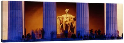 Lincoln Memorial, Washington DC, District Of Columbia, USA Canvas Print #PIM3143