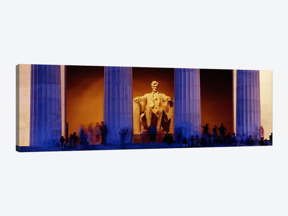 Lincoln Memorial, Washington DC, District Of Columbia, USA by Panoramic Images 1-piece Canvas Wall Art