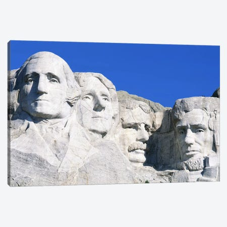 Mount Rushmore National Memorial In Zoom, South Dakota, USA Canvas Print #PIM3145} by Panoramic Images Canvas Artwork