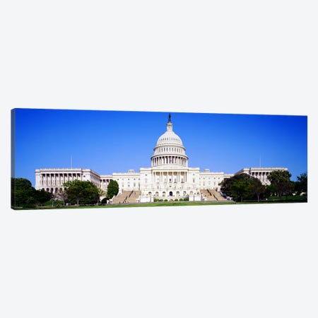 US Capitol, Washington DC, District Of Columbia, USA Canvas Print #PIM3146} by Panoramic Images Canvas Wall Art