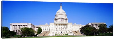 US Capitol, Washington DC, District Of Columbia, USA Canvas Print #PIM3146