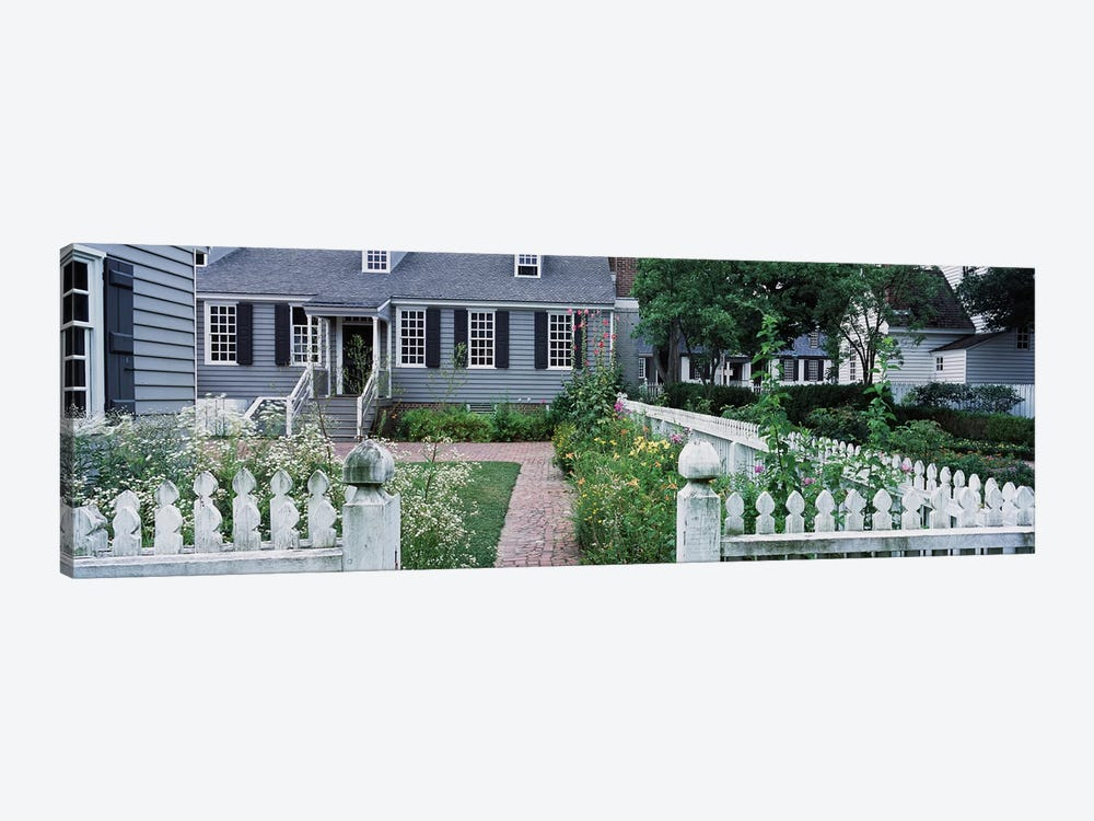 Gardens Williamsburg VA by Panoramic Images 1-piece Canvas Art
