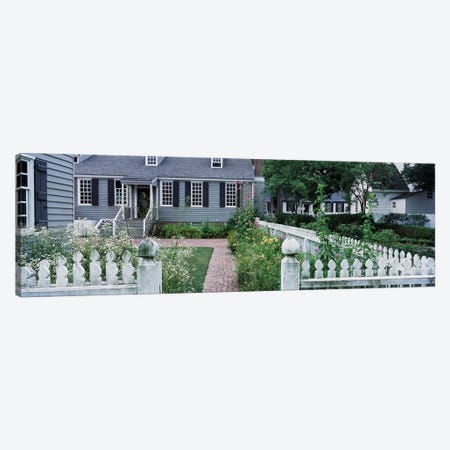 Gardens Williamsburg VA Canvas Print #PIM3147} by Panoramic Images Canvas Artwork