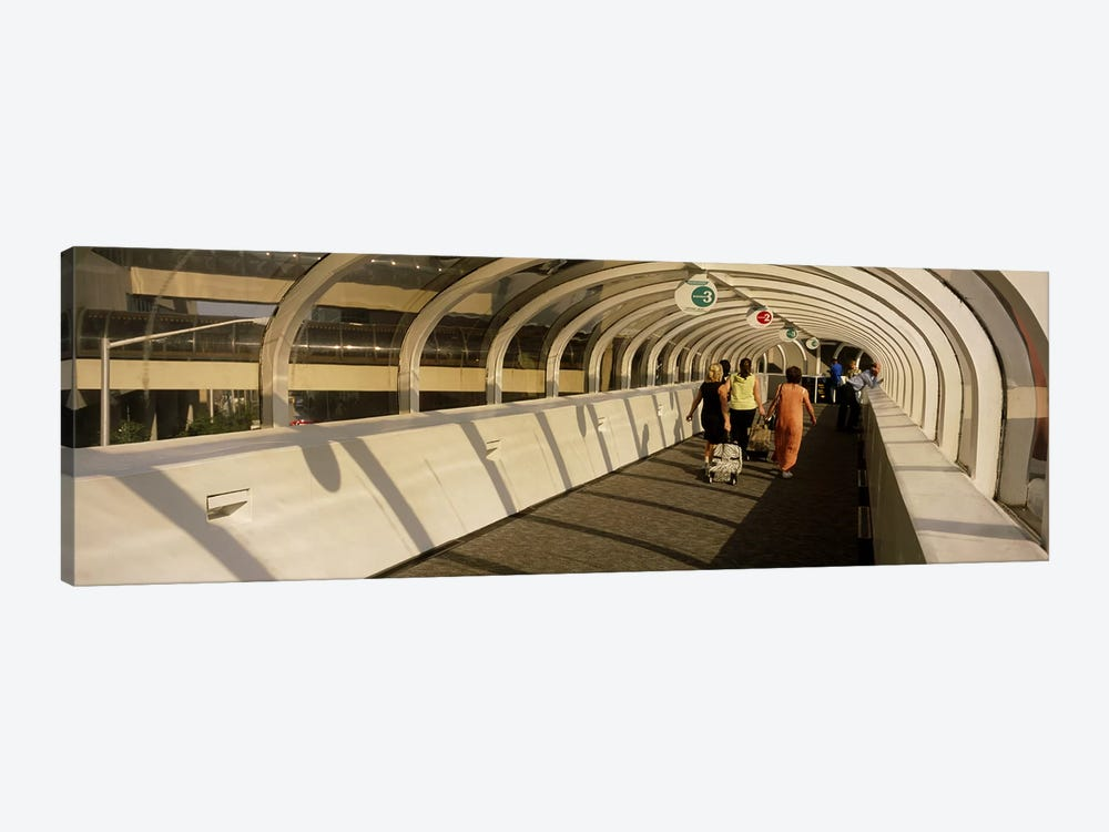 Rear view of tourists walking on a walkway, Atlanta, Georgia, USA by Panoramic Images 1-piece Canvas Artwork