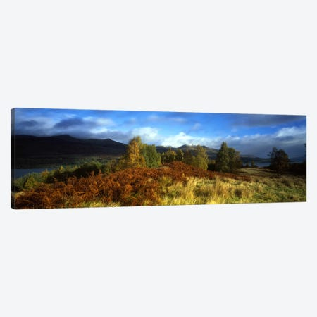 Peaceful Autumn Landscape, Near Loch Tay, Highlands, Scotland, United Kingdom Canvas Print #PIM3156} by Panoramic Images Canvas Art Print
