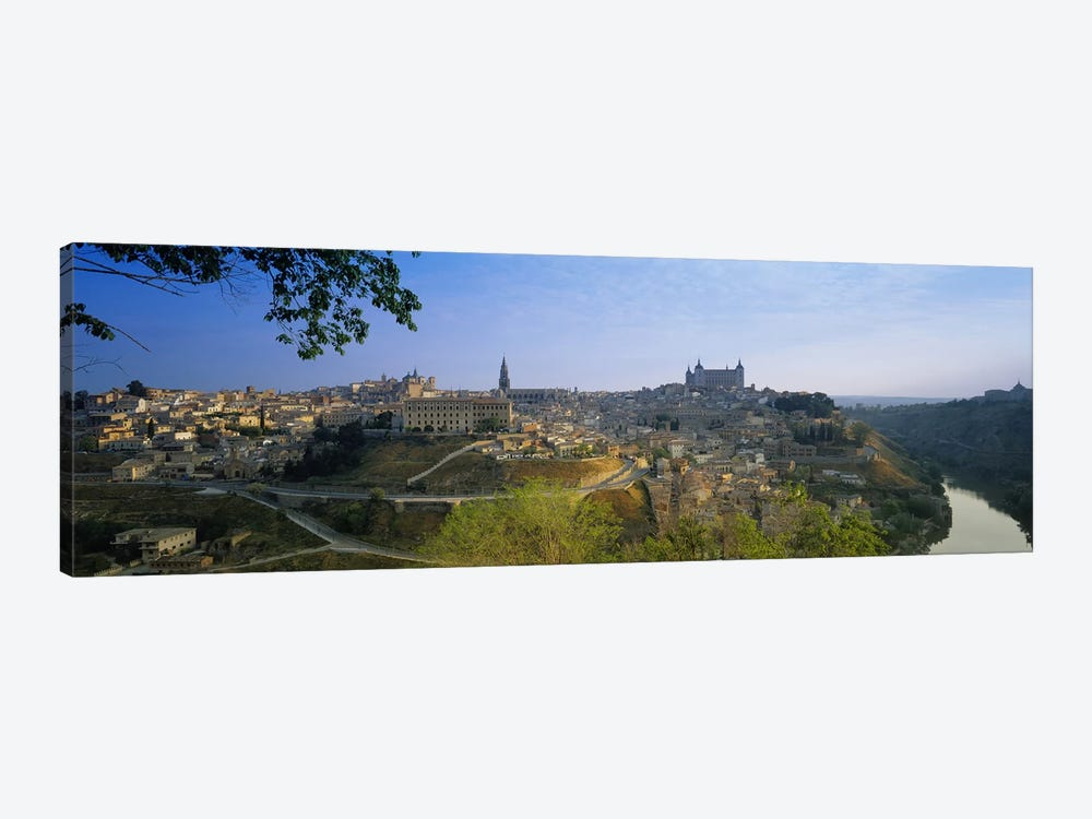 Aerial View Of The Old City, Toledo, Spain by Panoramic Images 1-piece Canvas Print