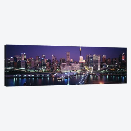 Partial View Of The Downtown Skyline, Sydney, Australia Canvas Print #PIM3162} by Panoramic Images Art Print