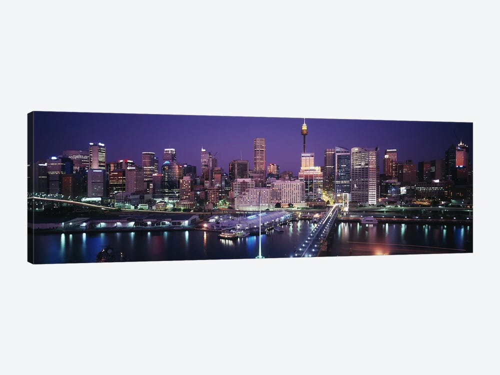 Partial View Of The Downtown Skyline, Sydney, Australia by Panoramic Images 1-piece Canvas Print