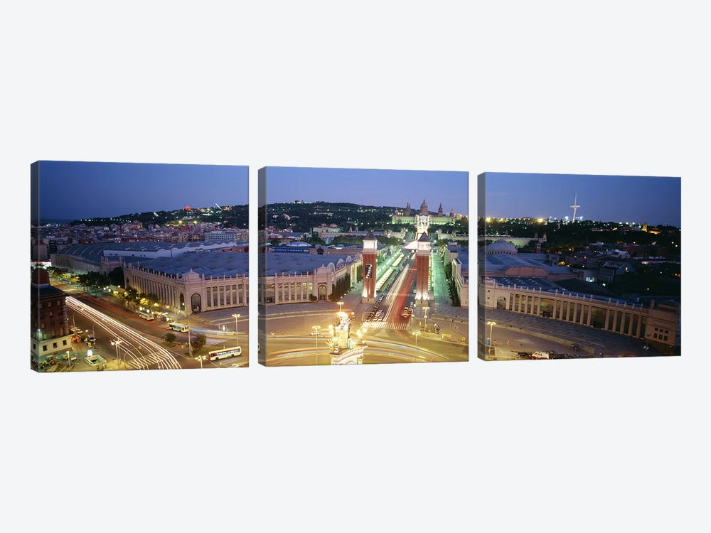 Barcelona Spain by Panoramic Images 3-piece Canvas Art Print