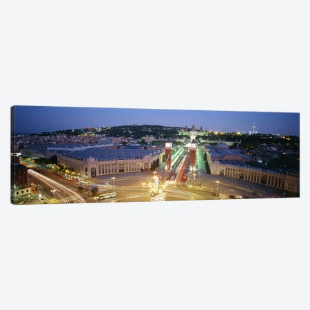 Barcelona Spain Canvas Print #PIM3164} by Panoramic Images Canvas Wall Art