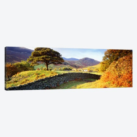 Countryside Landscape, Lake District, Cumbria County, England, United Kingdom Canvas Print #PIM3165} by Panoramic Images Canvas Wall Art