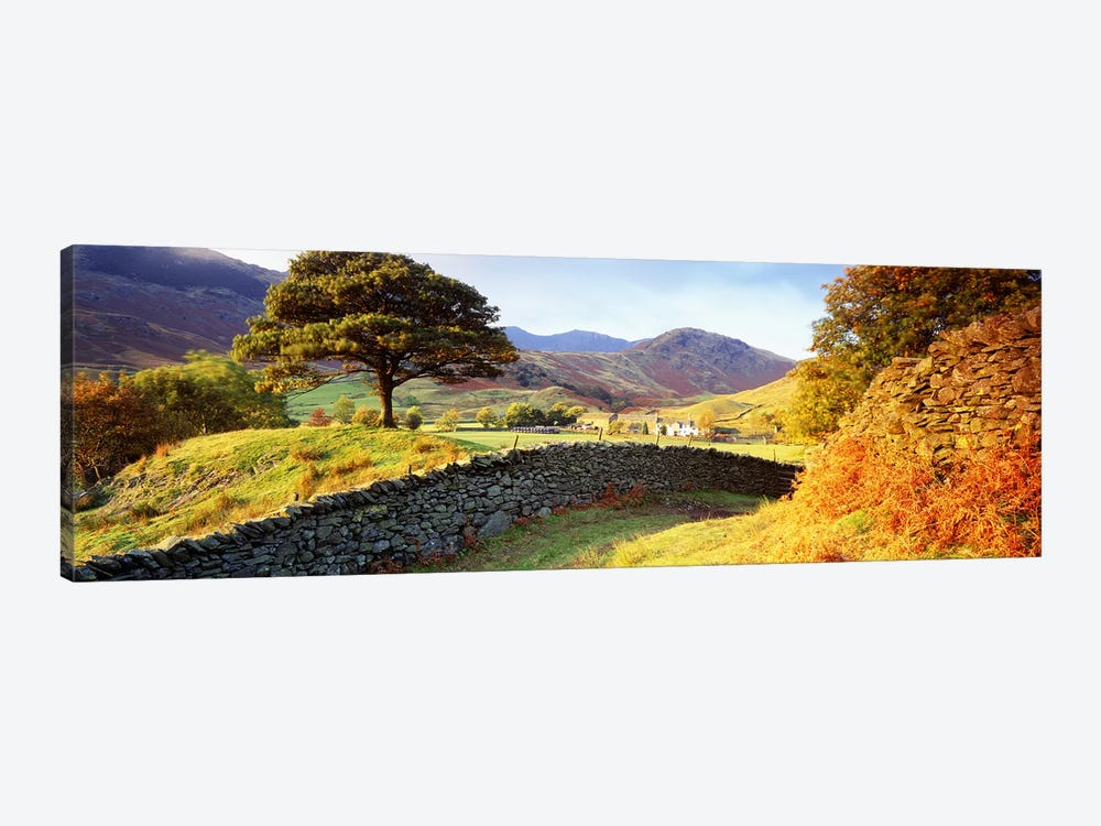Countryside Landscape, Lake District, Cumbria County, England, United Kingdom by Panoramic Images 1-piece Canvas Wall Art
