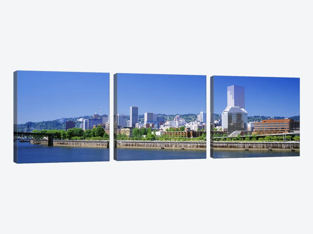 Portland Oregon USA #2 by Panoramic Images 3-piece Canvas Art
