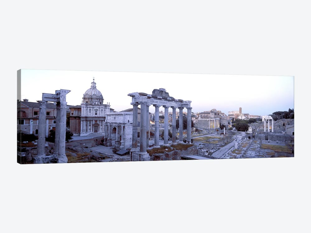 Roman Forum Rome Italy by Panoramic Images 1-piece Canvas Artwork