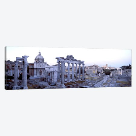 Roman Forum Rome Italy Canvas Print #PIM3174} by Panoramic Images Canvas Print