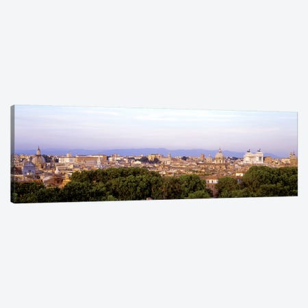High-Angle View, Rome, Lazio, Italy Canvas Print #PIM3175} by Panoramic Images Canvas Print