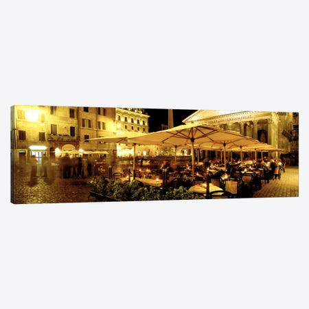 Gruppo Di Rienzo Café, Rome, Lazio Region, Italy Canvas Print #PIM3176} by Panoramic Images Canvas Print