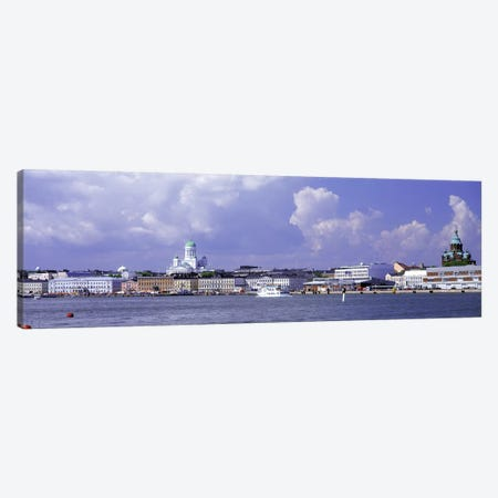 Kruununhaka & Katajanokka Neighborhoods, Helsinki, Finland Canvas Print #PIM3178} by Panoramic Images Canvas Wall Art