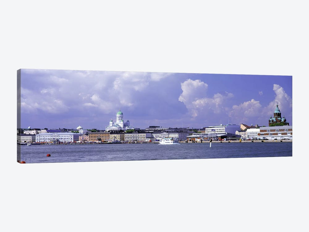 Kruununhaka & Katajanokka Neighborhoods, Helsinki, Finland by Panoramic Images 1-piece Canvas Wall Art