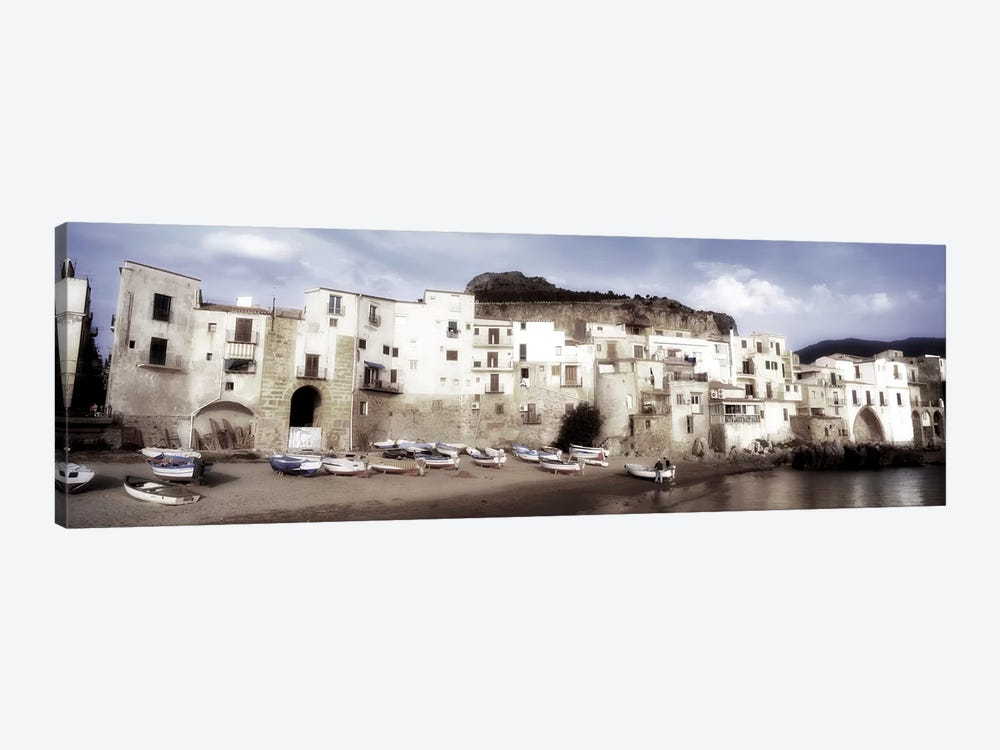 Seafront Architecture, Cefalu, Palermo, Sicily, Italy by Panoramic Images 1-piece Art Print