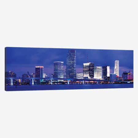 Miami, Florida, USA Canvas Print #PIM3183} by Panoramic Images Canvas Art Print
