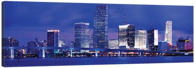 Miami, Florida, USA Canvas Art Print