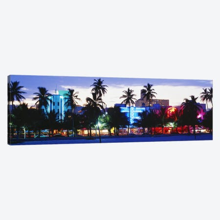 South Beach Miami Beach Florida USA Canvas Print #PIM3184} by Panoramic Images Canvas Wall Art