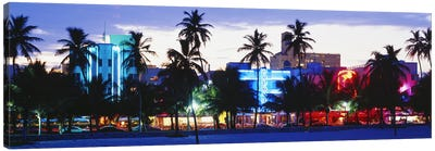 South Beach Miami Beach Florida USA Canvas Art Print