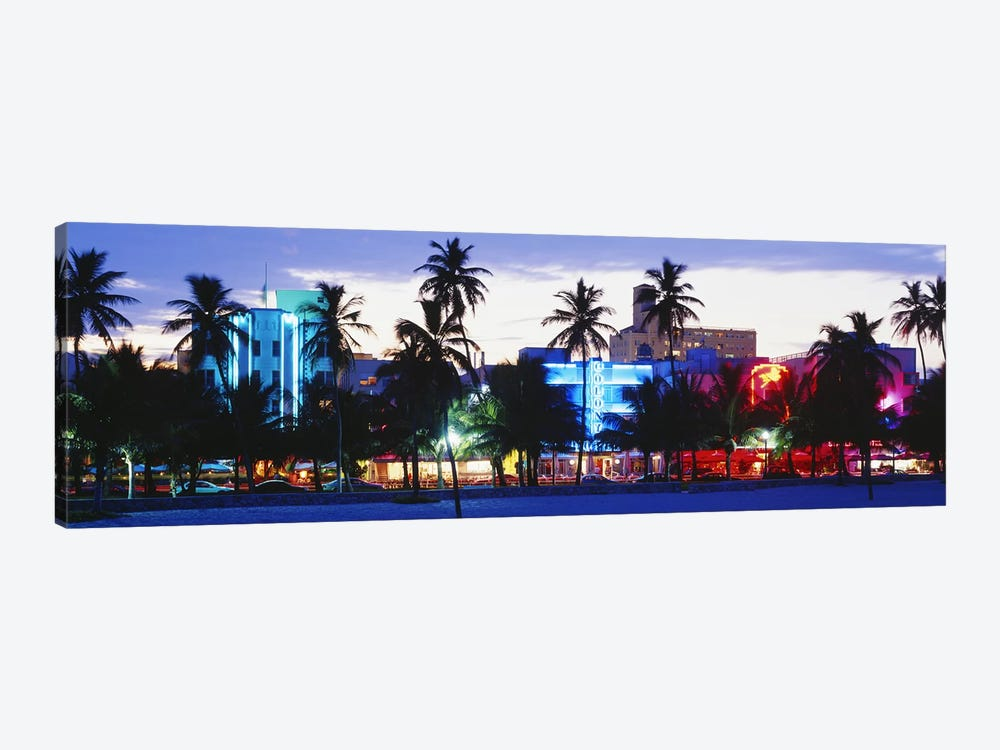 South Beach Miami Beach Florida USA by Panoramic Images 1-piece Canvas Print