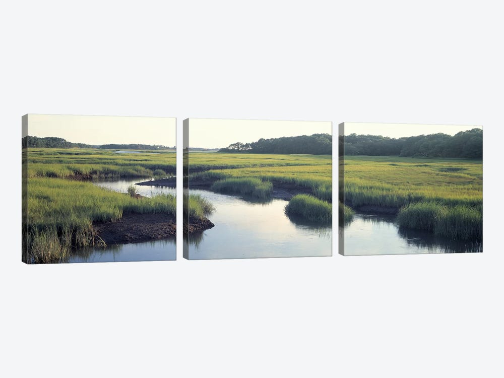 Salt Marsh Cape Cod MA USA by Panoramic Images 3-piece Canvas Art Print